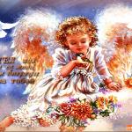 Открытка Ангел