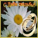Дорогие с днём вашей Свадьбы