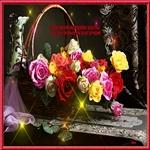 Розы женщине всегда подарок для души