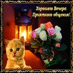 Хочется пожелать Всем хорошего вечера!