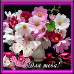 Эти цветы для тебя