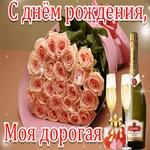 С Днём Рождения! Будь счастлива!
